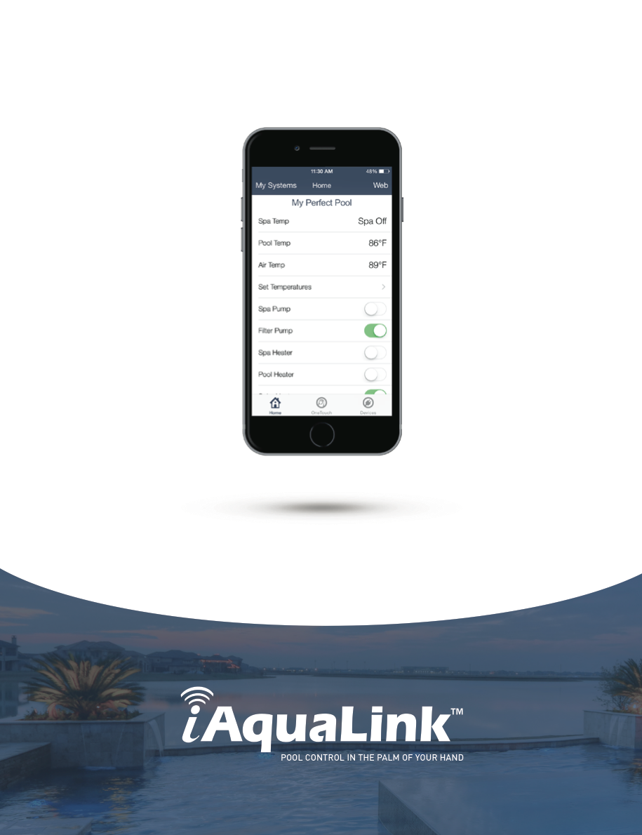 Iaqualink Support Swimming Pool Automation Amp Mobile Apps